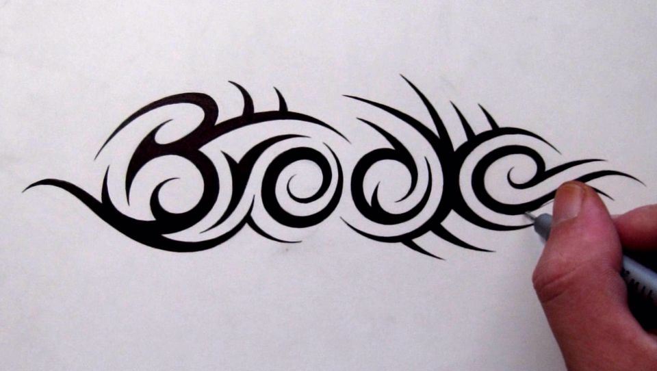 B S Tattoo Designs