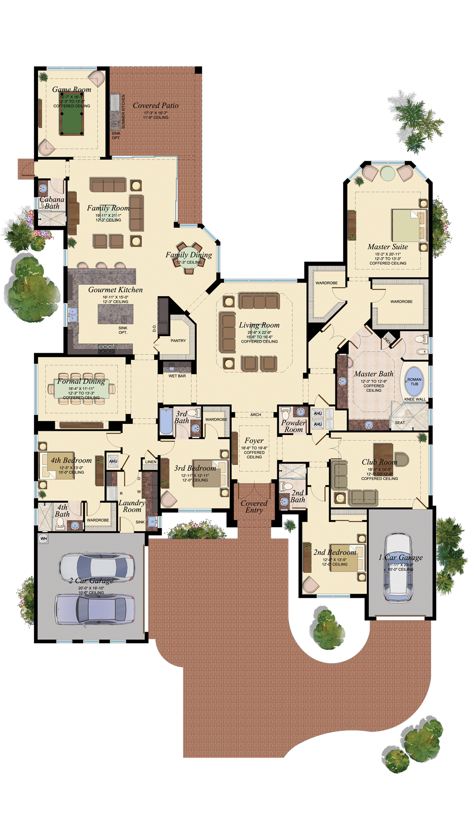 BELVEDERE/902love this floor plan, just need one game room