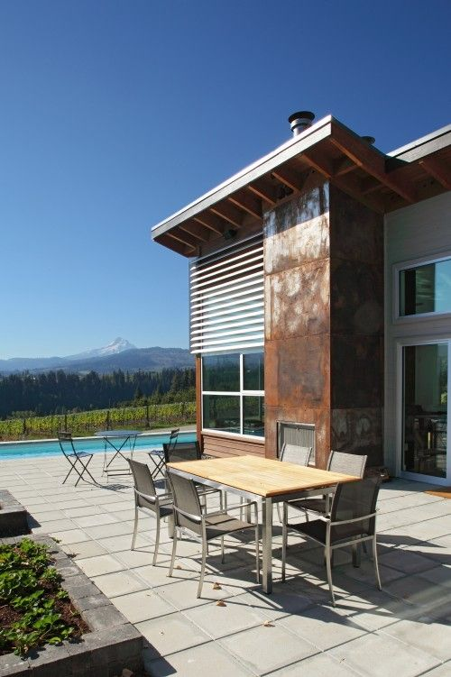 Modern Design Pictures Remodel Decor And Ideas Page 2 House Exterior Mountain Dream Homes Copper In Architecture