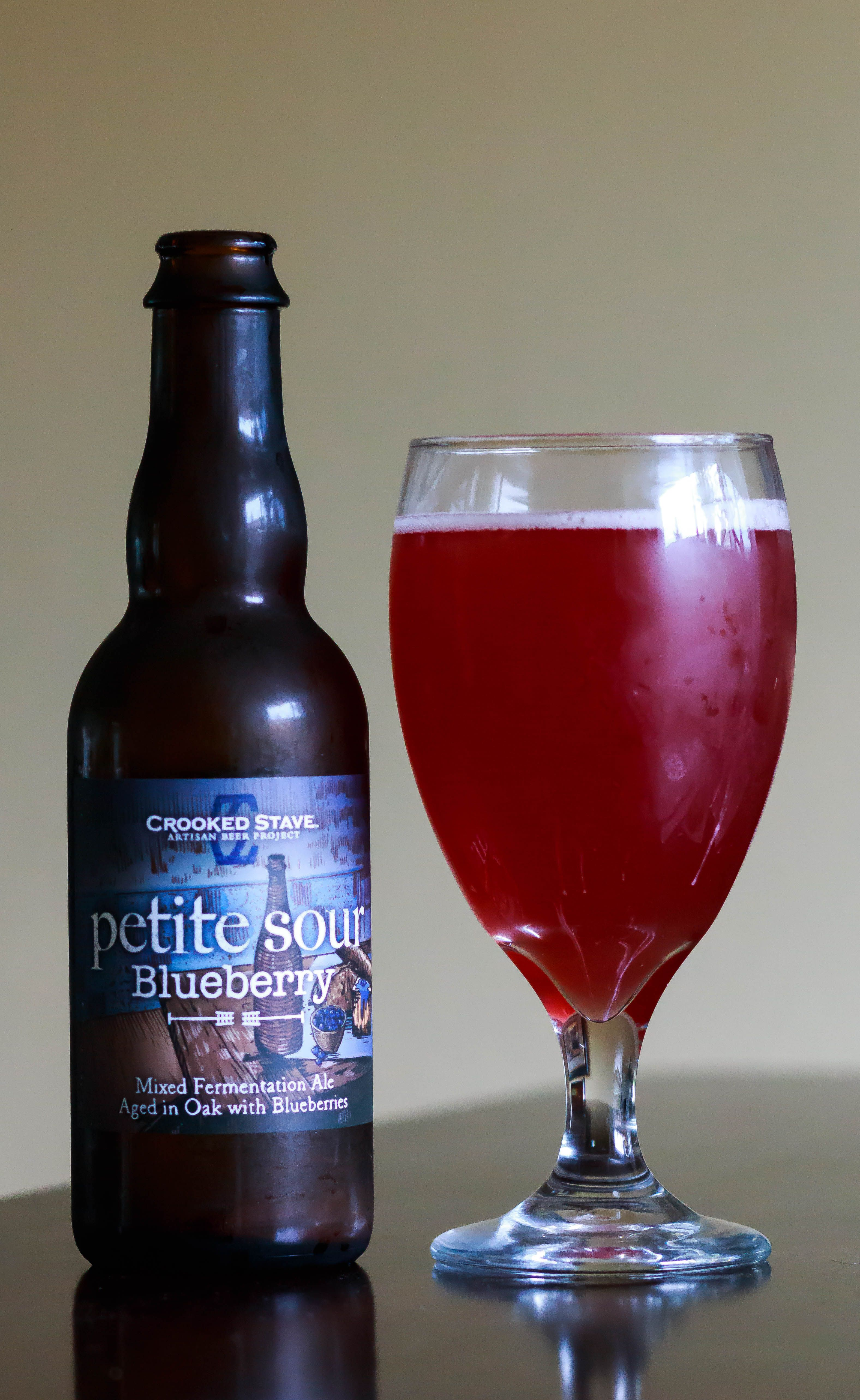 Blueberry Petite Sour Crooked Stave Brewery Wild Ale 5 Abv A Sour Blueberry This One Must Have Com Wonka Chocolate Factory Wonka Chocolate Mad Hippie