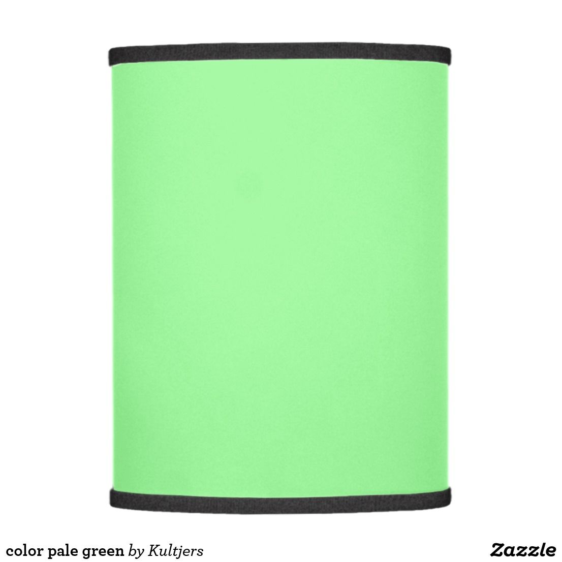 Color Pale Green Lamp Shade Zazzle