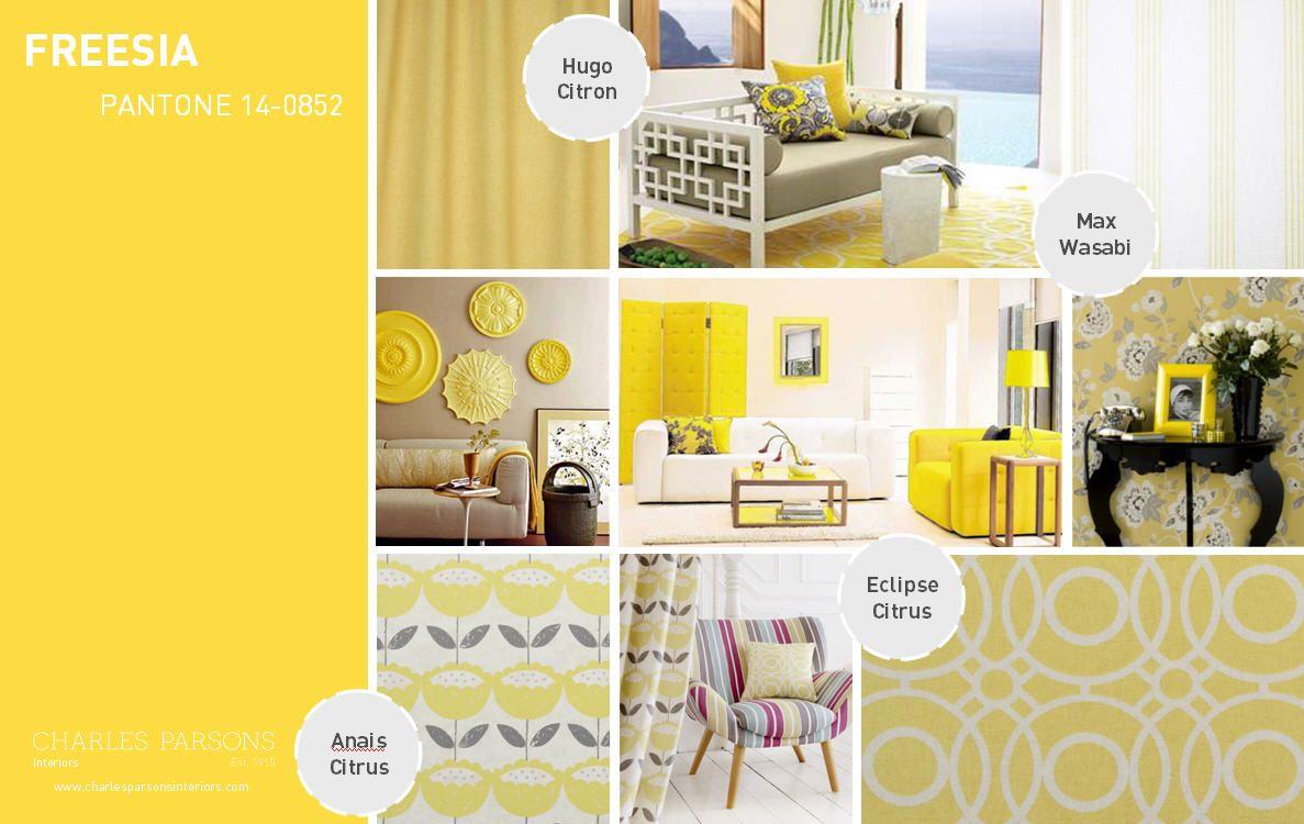 Pantone Spring 2014 interior decor inspiration Freesia | Color ...