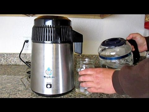 How To Easily Distill Water At Home Using The Megahome Countertop