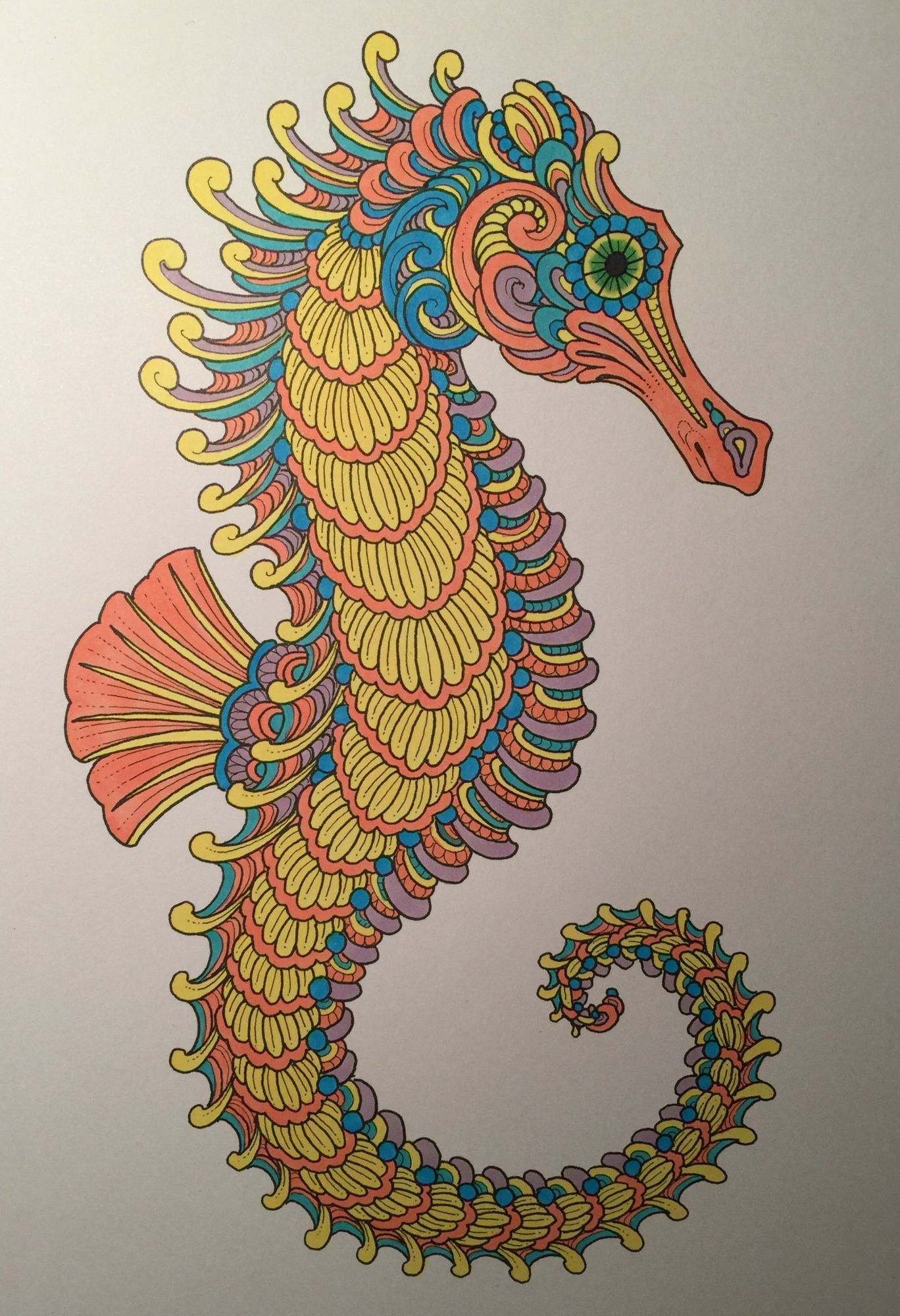 Color Odyssey Color Book Chris Garver Coloring Books Art