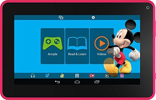 Smartab STJR76PK 7'' Kids Tablet With Preloaded Disney