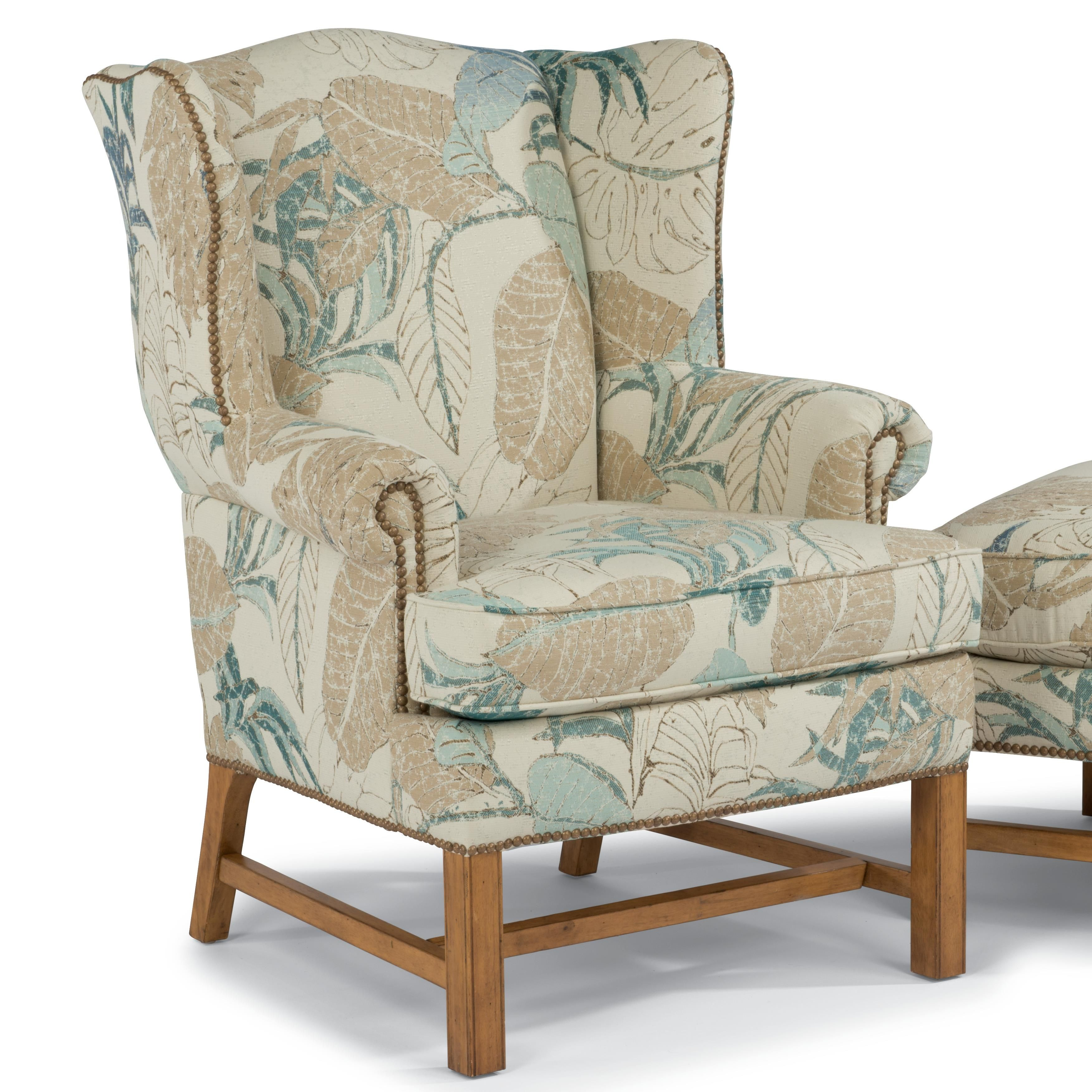 Accents Chancellor Chair by Flexsteel Chair fabric