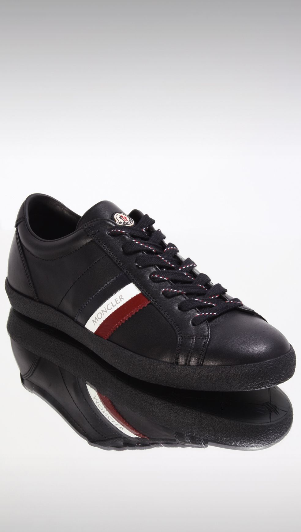 Moncler Monaco Trainers - Black £230 http://www.philipbrownemenswear.co