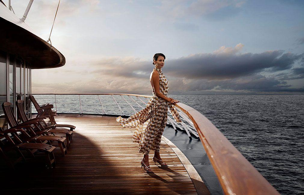 La sensación de navegar en un crucero