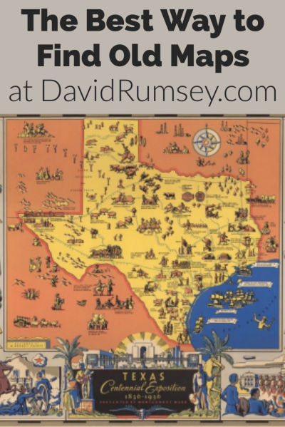 Follow these step-by-step instructions for the best way to find free old maps for genealogy. The David Rumsey Map Collection is an excellent place to go to find maps of your ancestors homeland for free! Includes video to show you how. #genealogy