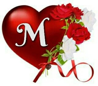 Letter Hearts Red Initials Names Frames Heart Letters A