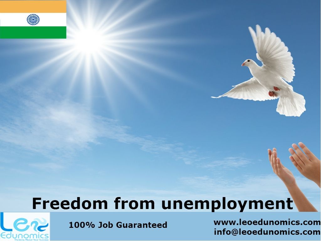 Freedom from unemployment leo edunomics workshops and freedom from unemployment leo edunomics workshops and certification congratulates india on independence day xflitez Choice Image