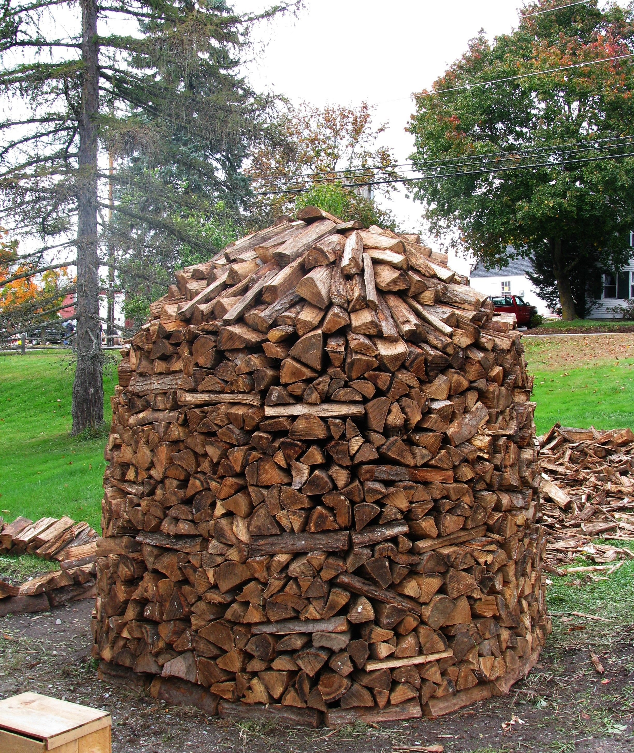 We Love This Wood Pile But It Makes Up Want