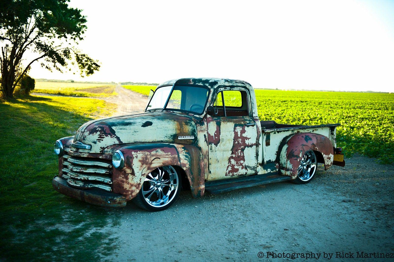 1952 Chevy Truck | 1952 Chevy 3100 Pickup – Patina Rat Rod ...