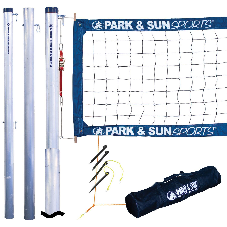 Park Sun Tournament 4000 Telescopic Volleyball Net System Volleyball Net Volleyball Sport Park