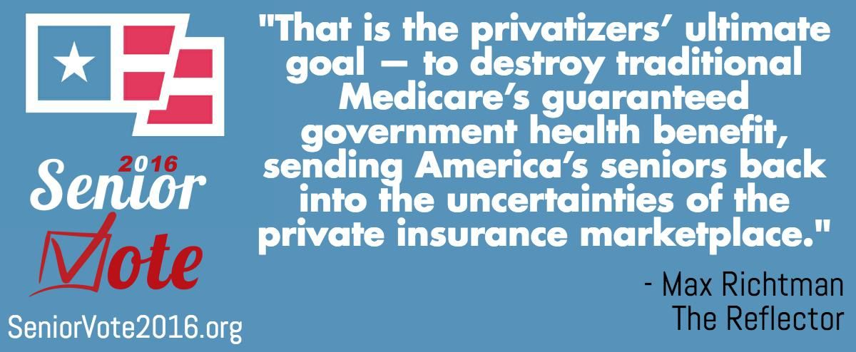 """""""To maximize profits, private insurers in Medicare will"""
