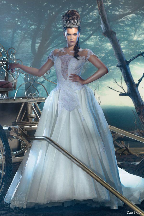 dar sara wedding dresses 2014 vienna bridal collection empress ...