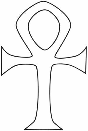 Ankh Design Uth1218 From Urbanthreads Com Embroidery Designs Egyptian Drawings Egyptian Goddess Tattoo