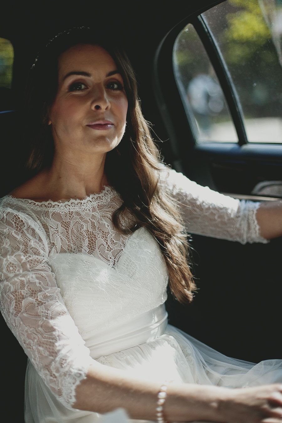 we love this beautiful wedding day hair and makeup by salon v in