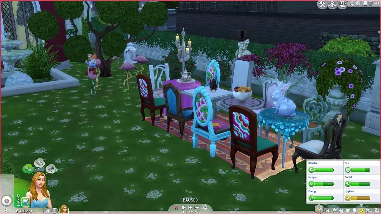 The Sims 4 Alice in Wonderland Castle