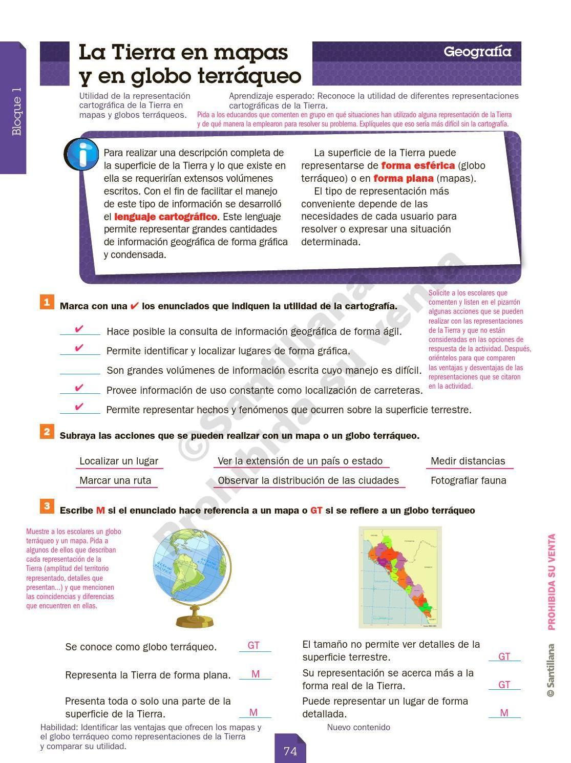 Guia Santillana 6 Grado Masetro By Guia Santillana