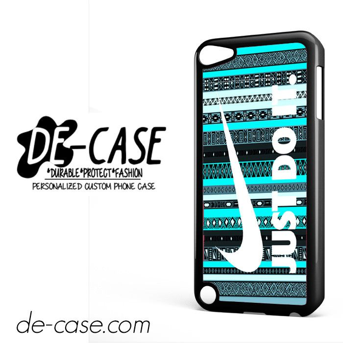 Nike Aztec Mint Just Do It For Ipod 5 Case Phone Case Gift Present
