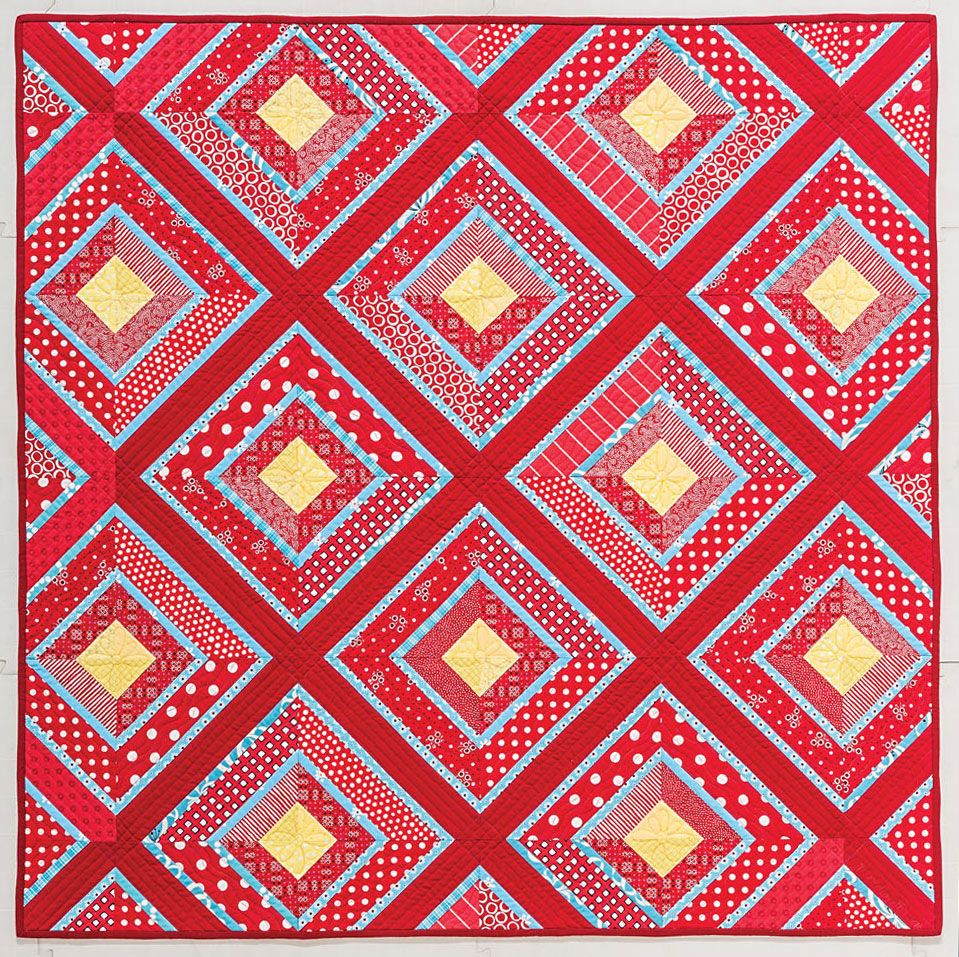 Bichromatic strip patterns amazing