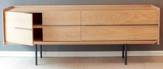 Cantilever Sideboard In Oak Oak Home Decor Furniture