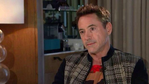 Robert Downey Jr. walks out of U.K. interview with Krishnan Guru-Murthy