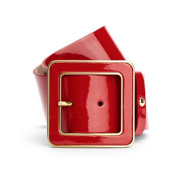 Aspinal of London biarritz patent leather belt $115US