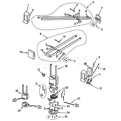 Artemide Spare parts for Tizio 35  blackArtemide Spare parts for Tizio 35  black   Home  Furniture  Tools  . Artemide Lighting Spare Parts. Home Design Ideas