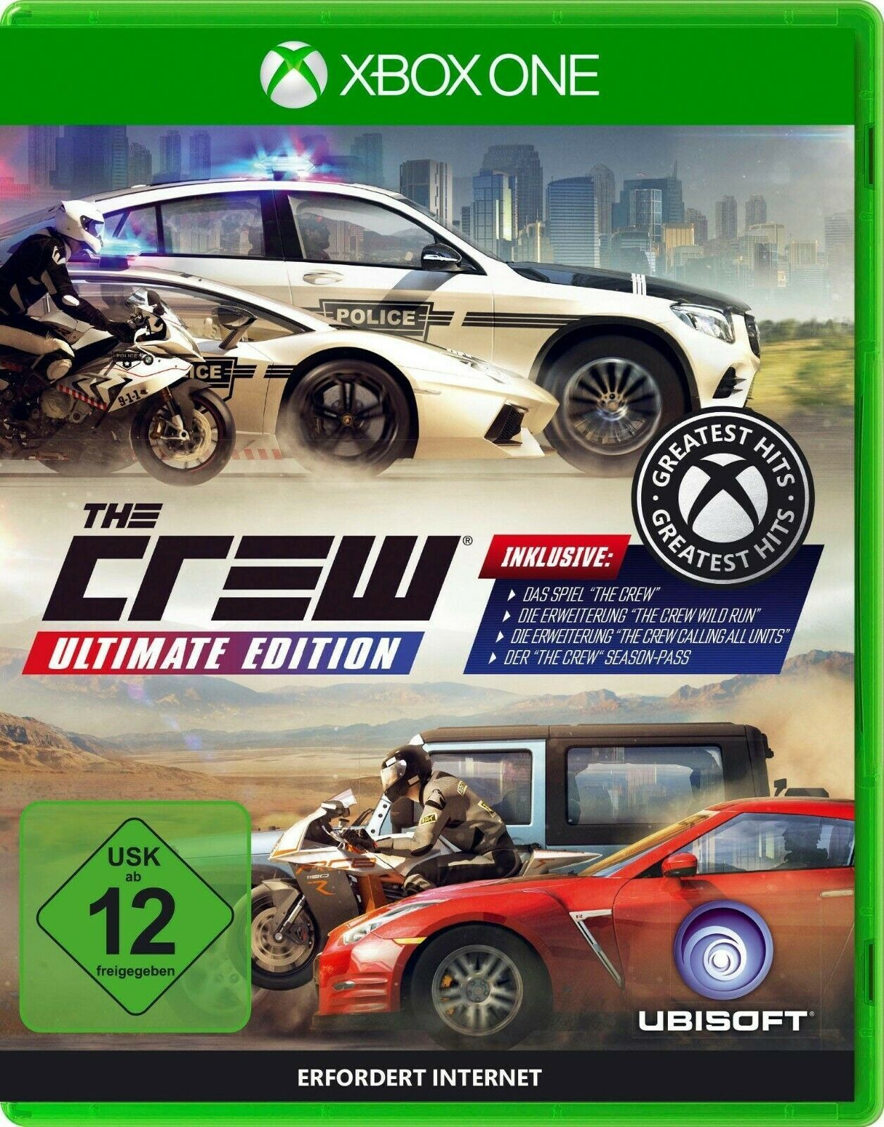 The Crew Ultimate Edition Spielgenre Sport Rennspiele Plattform