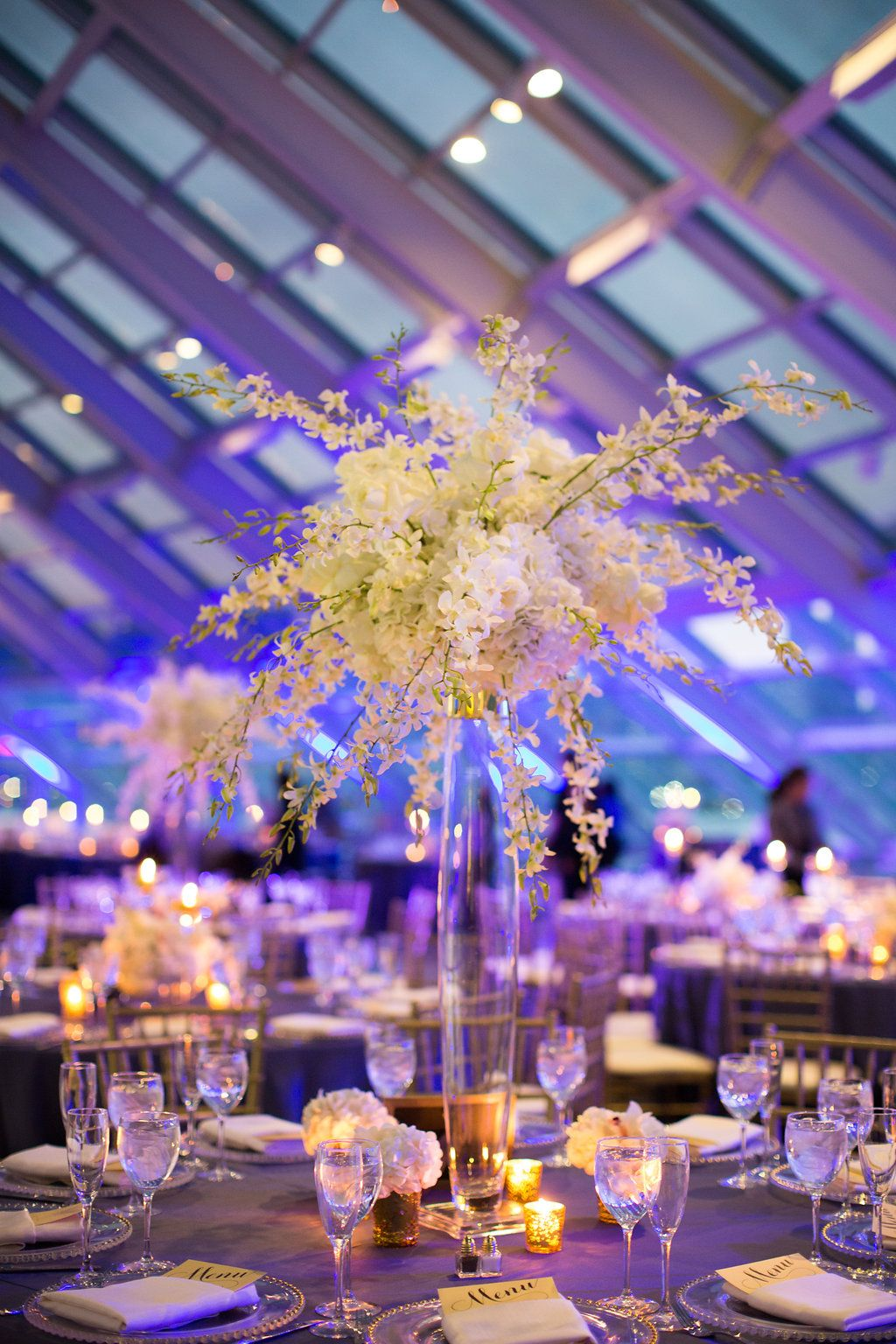 Towering Centerpieces / Indian Wedding / Summer Wedding