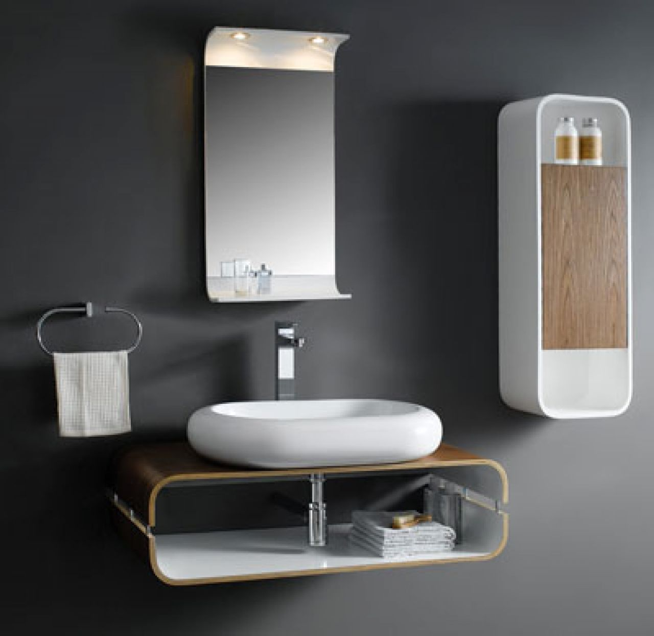 Find This Pin And More On Minimalist Home Design. Captivating Bathroom  Vanity ...