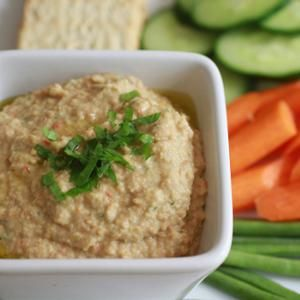 Eggplant garbanzo bean dip from whole foods hummus gets upgraded eggplant garbanzo bean dip recipes whole foods market cooking in charleston forumfinder Choice Image