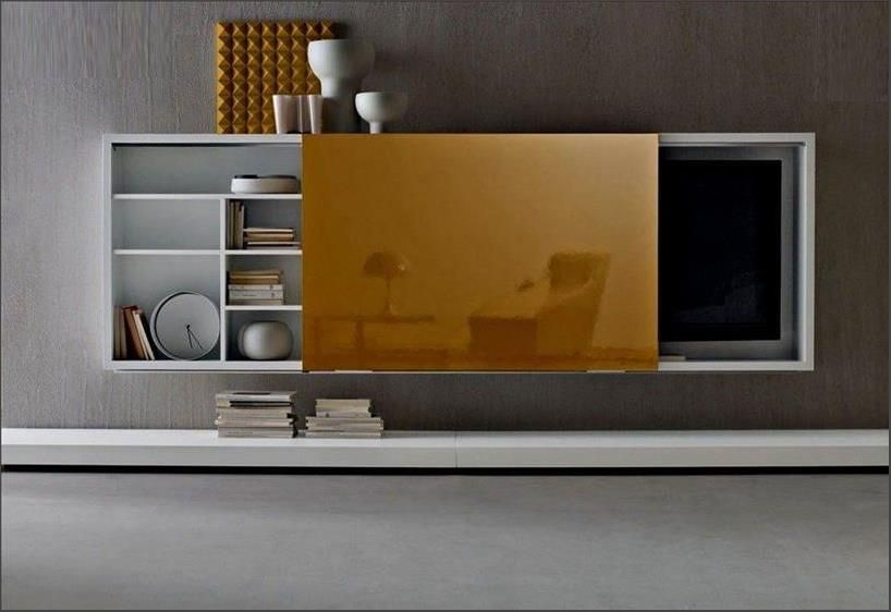 Image Result For Hidden Tv Wall Mounted Tv Cabinet Tv Wall