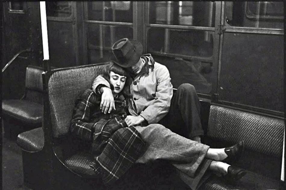 Kubrick - Couple In the subway