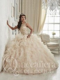 1fddd4364c House of Wu 26835 Sparkling Quinceanera Dress - French Novelty