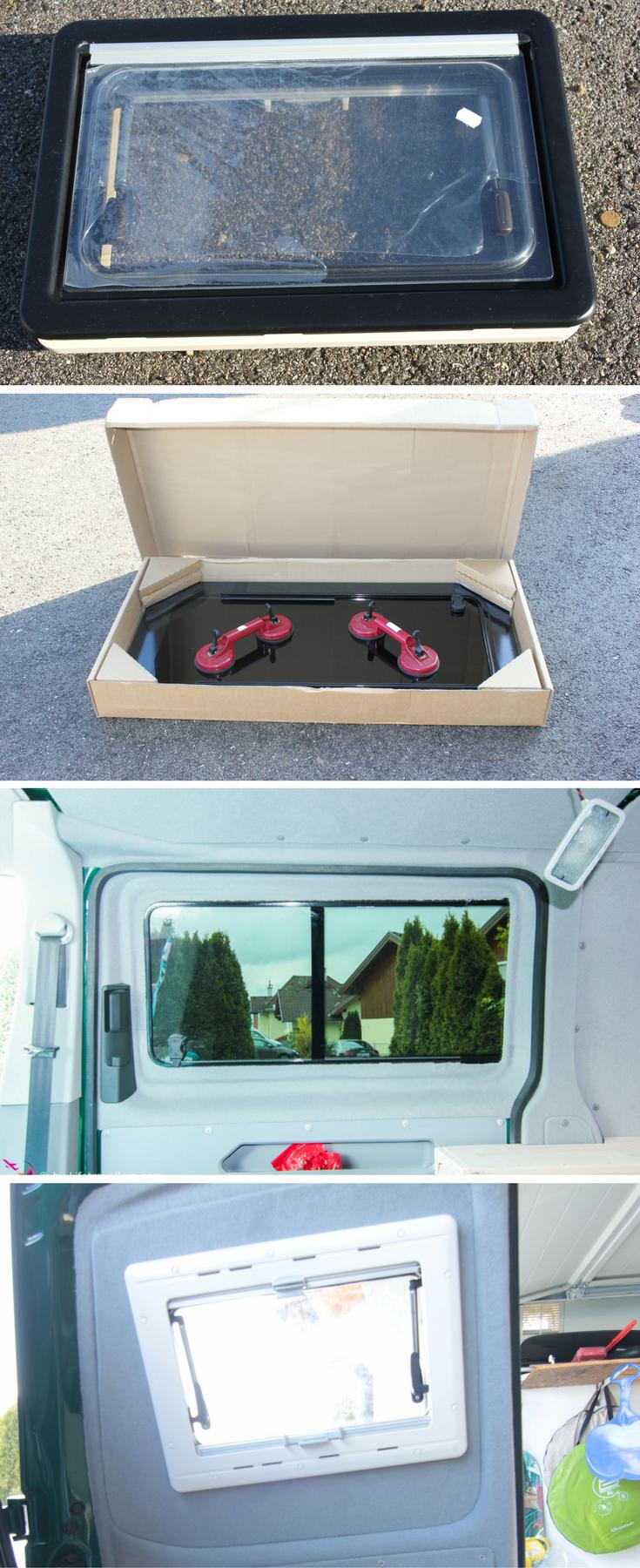vw t5 busausbau die fenster einbauen camping auto. Black Bedroom Furniture Sets. Home Design Ideas