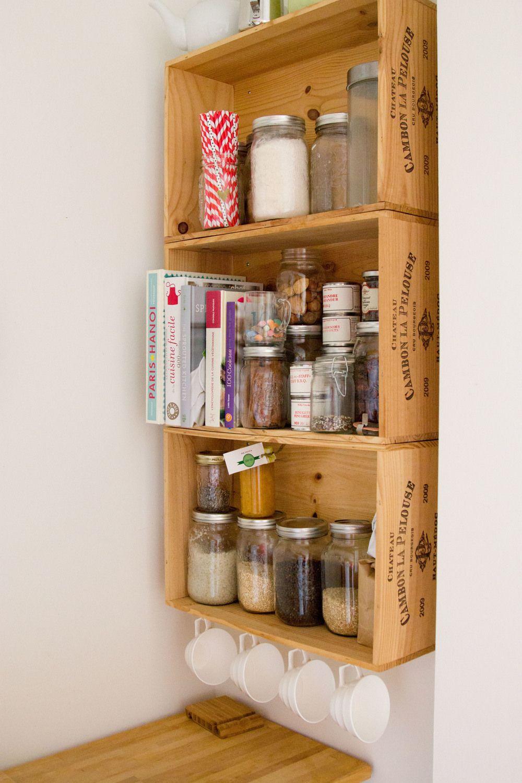 quoi faire avec des caissons de vin mobiliers objets. Black Bedroom Furniture Sets. Home Design Ideas