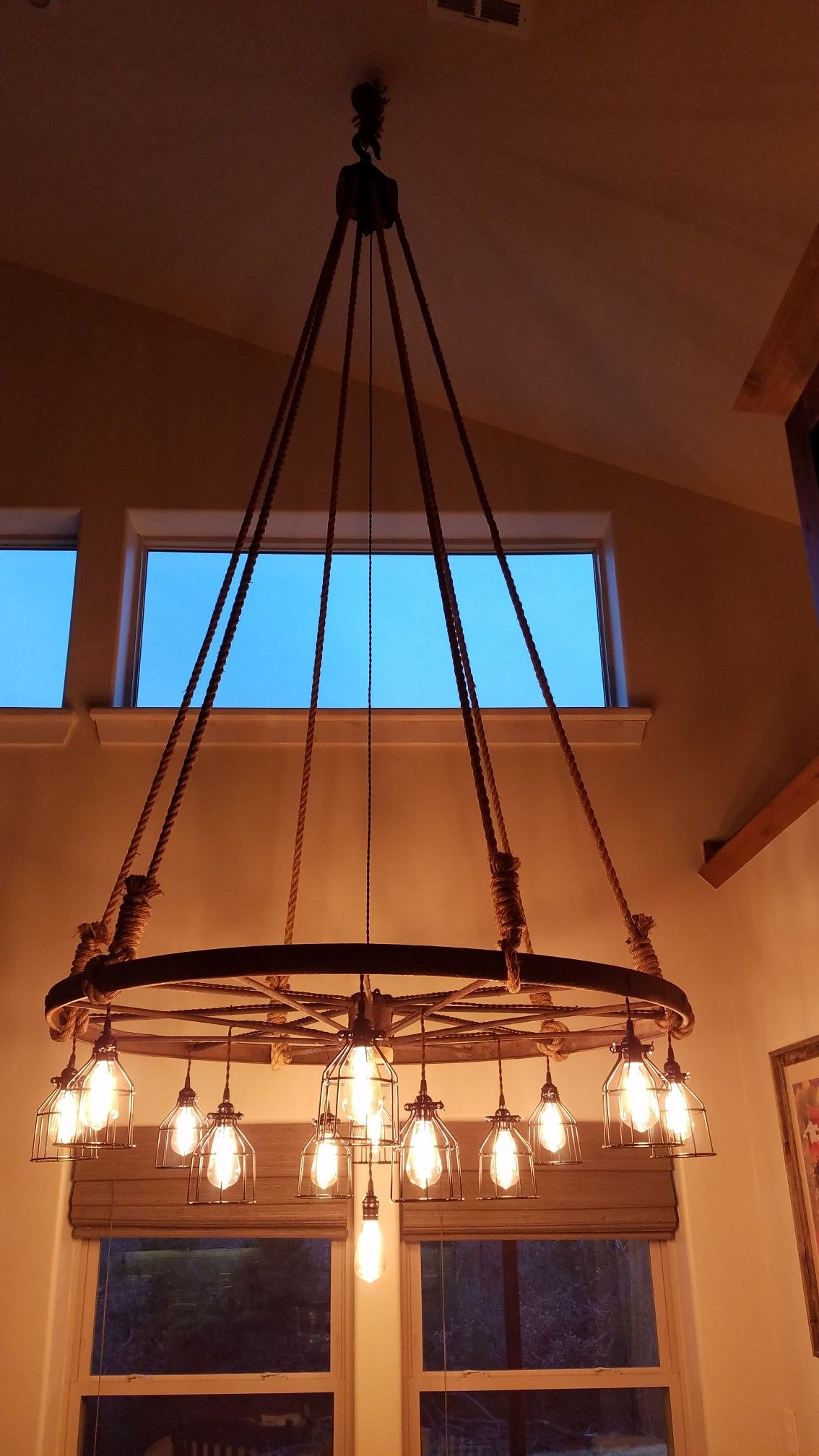 Rustic Wagon Wheel Light Fixture Wagon Wheel Chandelier Wagon