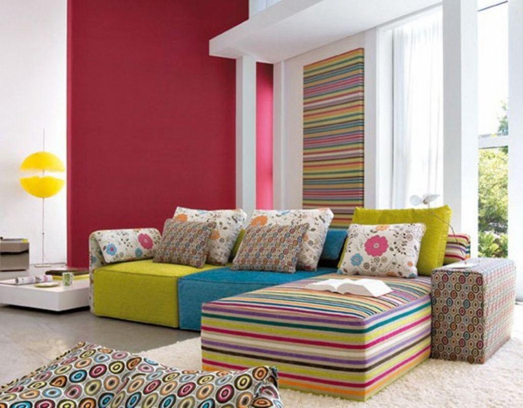 Beste Bunte Wohnzimmer Ideen - - Bunte-Wohnzimmer-Ideen ...