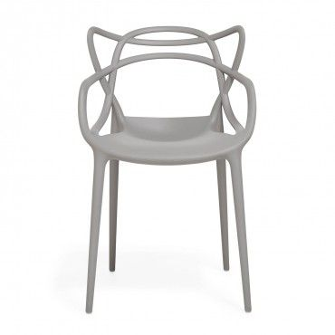 Kartell Gray Masters Chair A hybrid of captivating styles mixed with ...