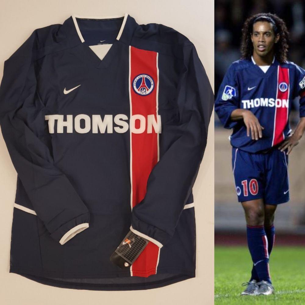 best website 7babd 90746 Nike psg paris saint germain 2002/03 player issue soccer ...