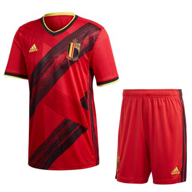 Euro 2020 Belgium Home Soccer Jersey Kit Soccer Jersey Jersey Football Kits