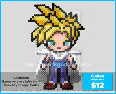 Ssj Teen Gohan Chibishou By Geekmythologystudiosdeviantart