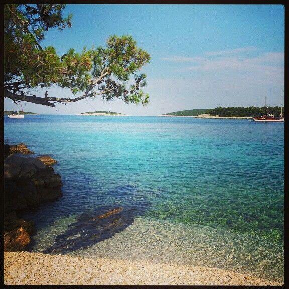 Isla de vis en croacia.