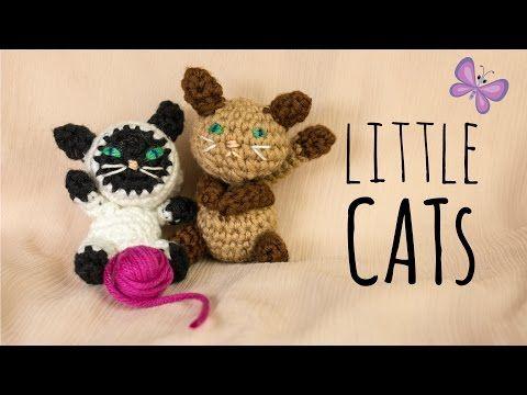 Kleine Katze Häkelanleitung Do It Yourself Youtube