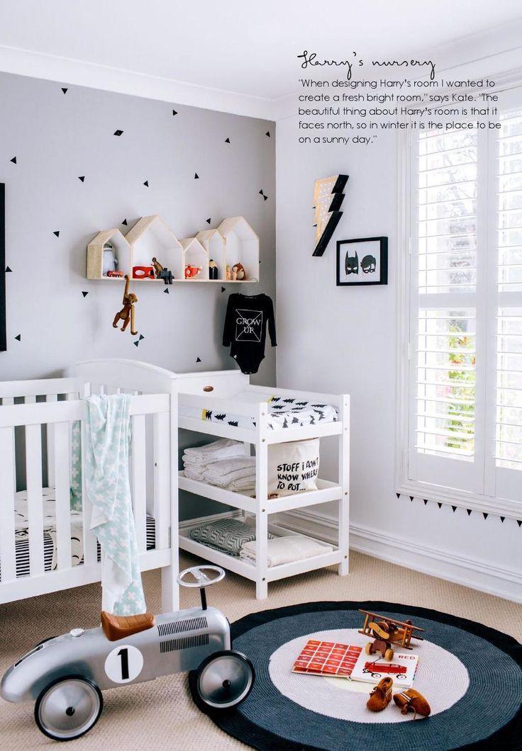 40 inspira es de quartos para meninos que fogem do azul for Habitacion completa bebe boy