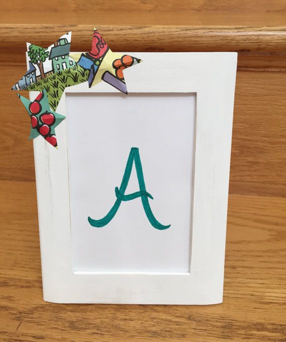 This handmade frame will make a beautiful addition to any home ...