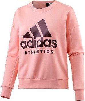 on sale fe845 a9d0f title>Adidas Sweatshirt Damen lachs im Online Shop von ...